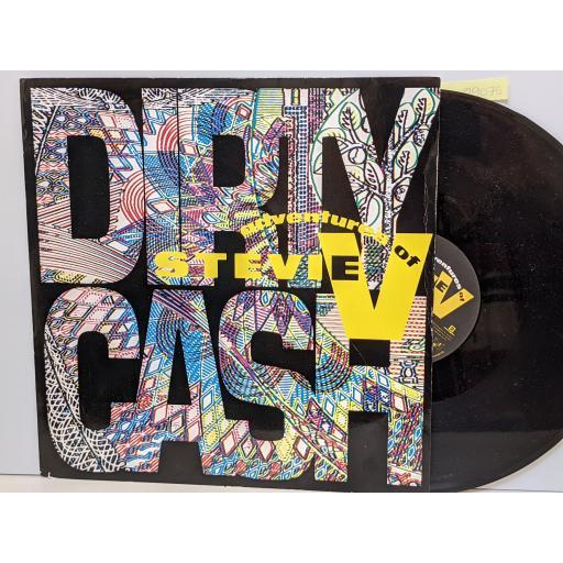 """ADVENTURES OF STEVIE Dirty cash, 12"""" vinyl SINGLE. MERX311"""