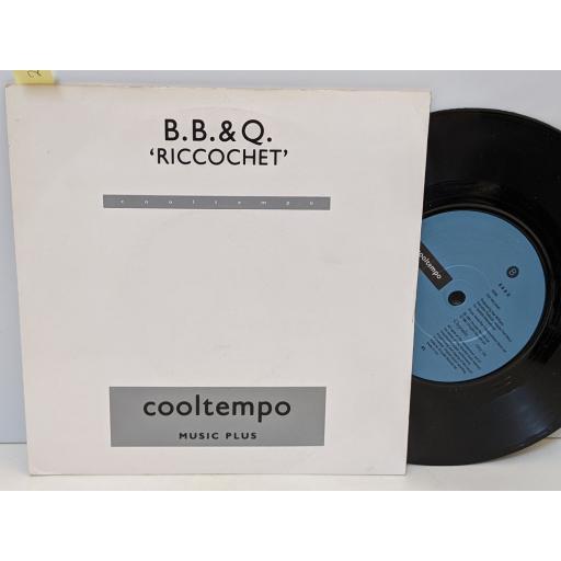 "BB&Q Riccochet, Genie, 7"" vinyl SINGLE. COOL154"
