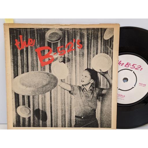"THE B-52S Rock lobster, 52 girls, 7"" vinyl SINGLE. PSR438"
