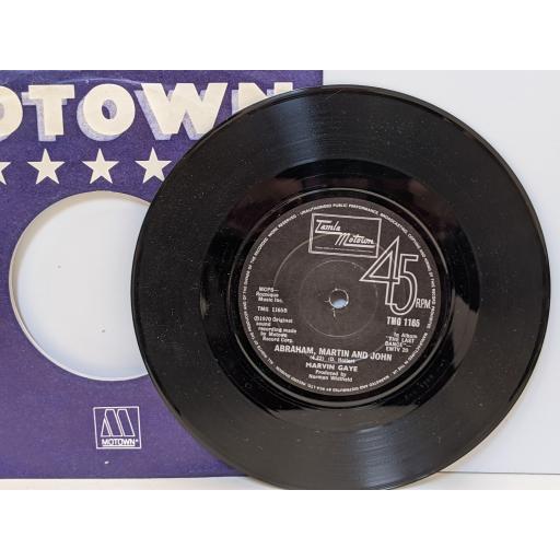 "MICHAEL JACKSON Ben, MARVIN GAYE Abraham martin and john, 7"" vinyl SINGLE. TMG1165"
