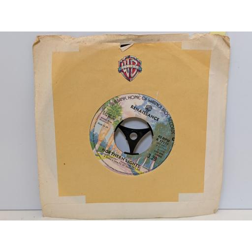 "RENAISSANCE Northern lights, Opening out, 7"" vinyl SINGLE. 7"" K17177"