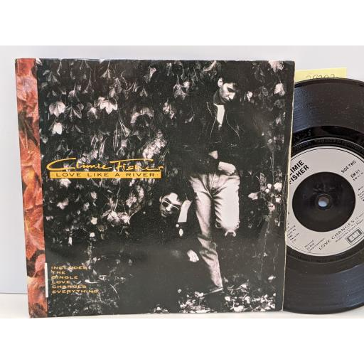"""CLIME FISHER Love like a river, Love changes, 7"""" vinyl SINGLE. EM81"""
