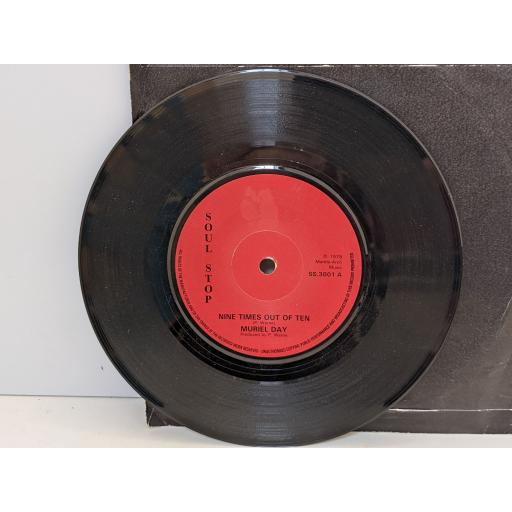 """MURIEL DAY Nine times out of ten, Do the skunk, 7"""" vinyl SINGLE. SS3001"""