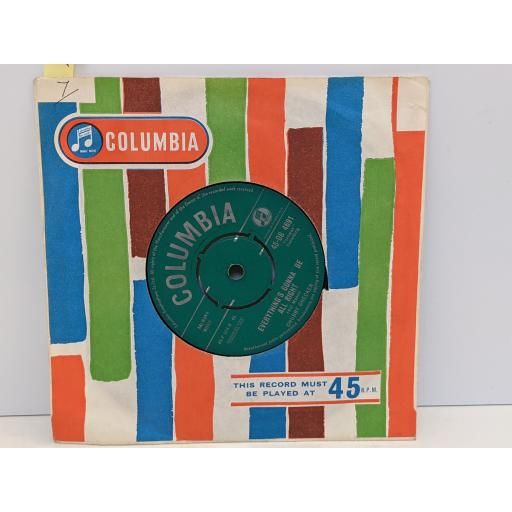 """CHUBBY CHECKER Let's twist again, Everything's gonna be alright, 7"""" vinyl SINGLE.45DB4691"""