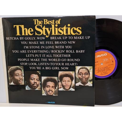 "THE STYLISTICS The best of, 12"" vinyl LP. 91090031"