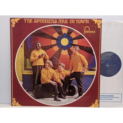 """THE SPINNERS The spinners are in town, 12"""" vinyl LP. 6309014"""