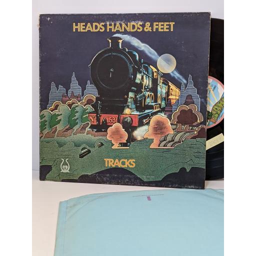 "HEADS HANDS AND FEET Tracks, 12"" vinyl LP. ILPS9185"
