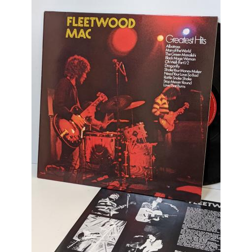 """FLEETWOOD MAC Fleetwood mac's greatest hits, 12"""" vinyl LP. 4607041"""