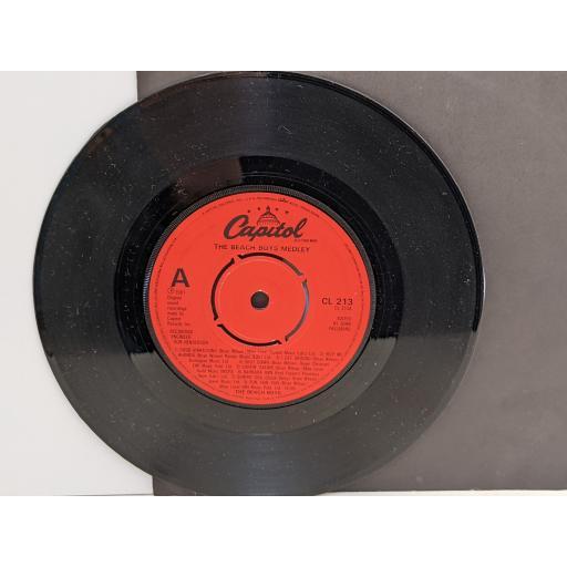 """THE BEACH BOYS The beach boys medley, God only knows, 7"""" vinyl SINGLE. CL213"""