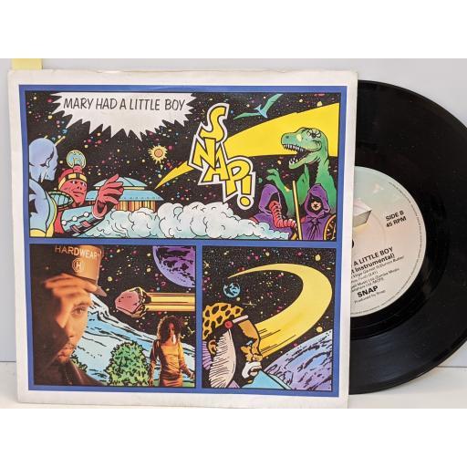 "SIMPLE MINDS Ghostdancing, Jungleland, 7"" vinyl SINGLE. VS907"