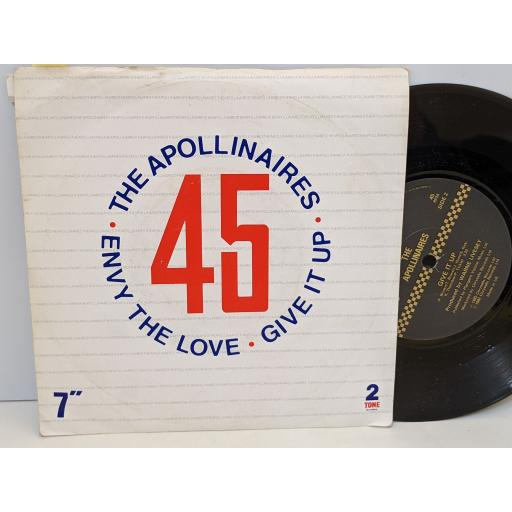 """THE APOLLINAIRES Envy the love, Give it up, 7"""" vinyl SINGLE. CHSTT22"""