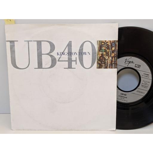 "UB40 Kingston town, Lickwood, 7"" vinyl SINGLE. 113085"