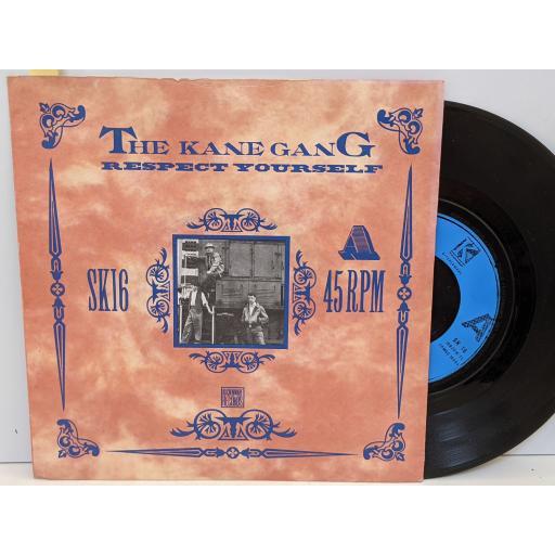 "THE KANE GANG Respect yourself, Amusement park, 7"" vinyl SINGLE. SK16"