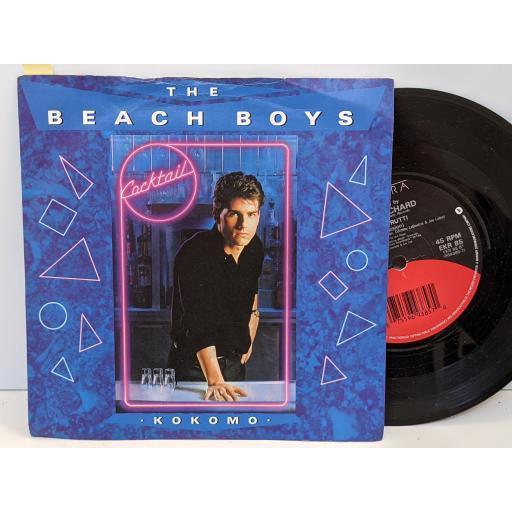 "THE BEACH BOYS, LITTLE RICHARD Kokomo, Tutti frutti, 7"" vinyl SINGLE. EKR85"