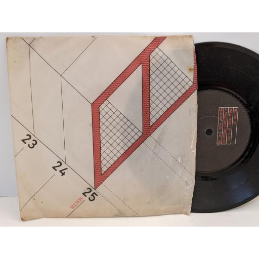 """SECTION 25 Girls dont count, Knew noise, Up to you, 7"""" vinyl SINGLE. FAC18"""